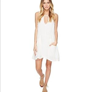 NWT Free People Smooth Sailing Dress S OFF WHITE